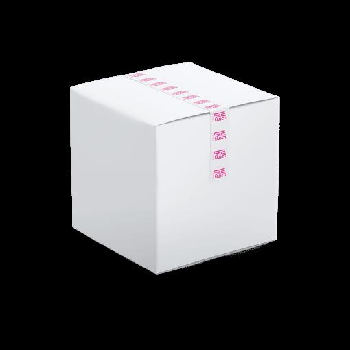 tejp med tryck låda