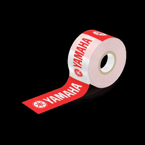 avspärrningsband med tryck 75mm